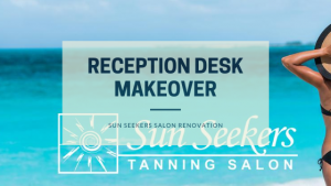 Reception-desk-makeover-with-nelcos-architectural-film-at-sun-seekers-tanning-salon
