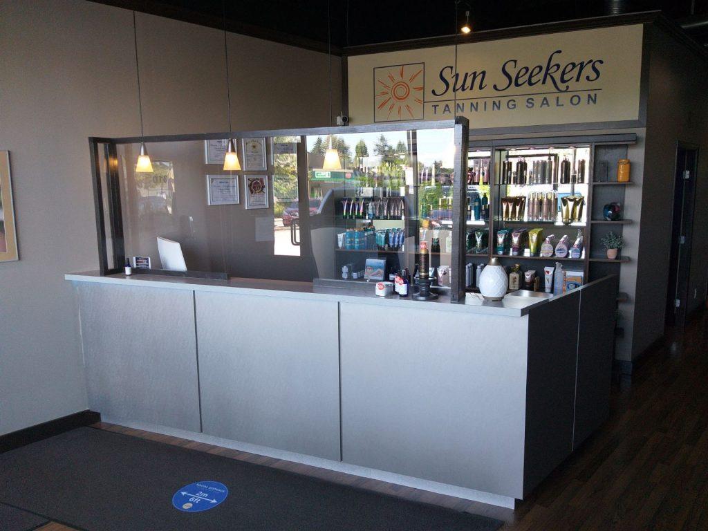 Sun Seekres Salon Reception new look