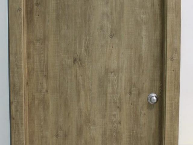 Bathroom Door After