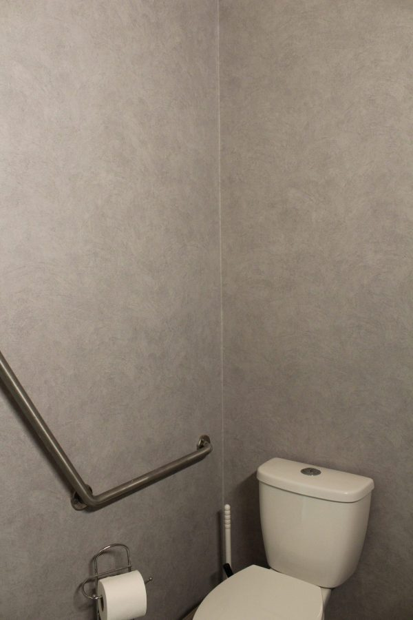 Bathroom Wall After