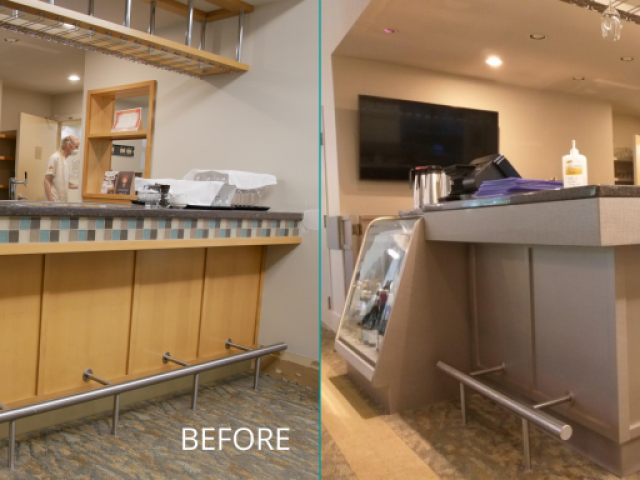 Bar Area Renovation – Before&After