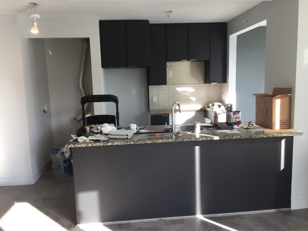 Kitchen renovation in Vancouver - after photo