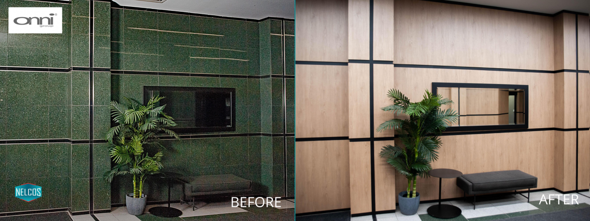Restaurant Walls and Wall Paneling Renovation – Before&After