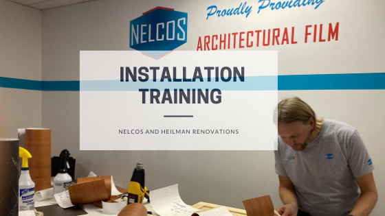 Installation Training - Nelcos Distribution and Heilman Renovations - Blog Post Featured Image