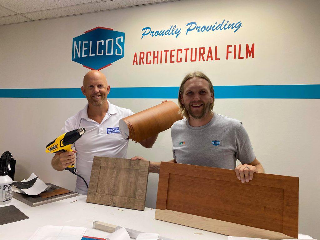 Installation Training_Peter Maki and Joe Heilman from Heilman Renovations