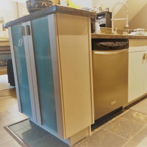Kitchen Island Cabinets Refinish