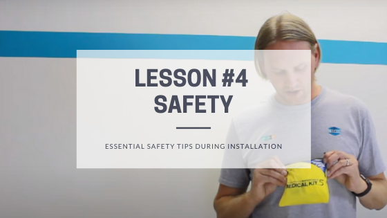 Essential safety tips during the architectural film installation - Blog Post Featured Image