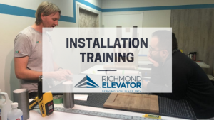 Installation Training for Richmond Elevator Team - Blog Post Featured Image
