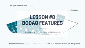 Lesson 8 - Air Release Technology And Stretching Capabilities of Bodaq Interior Film - Blog Post Featured Image