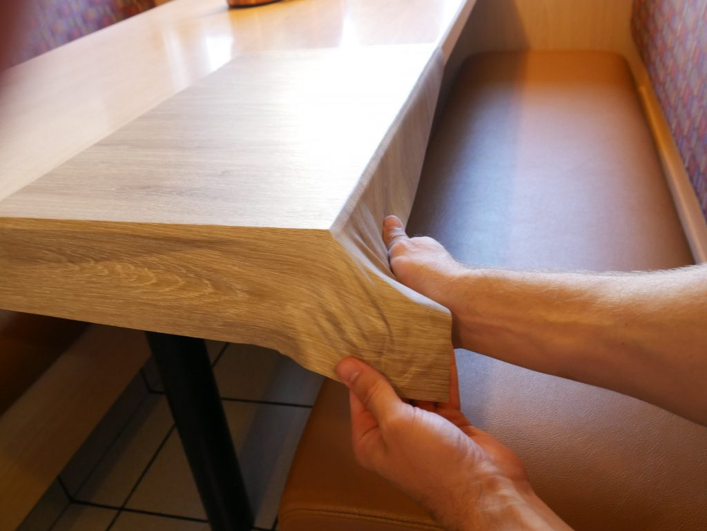Wood Film Stretching