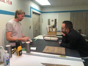 Installation training for Richmond Elevator representatives