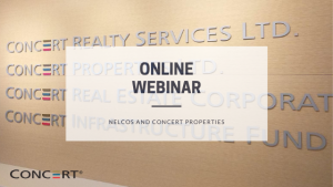 Online webinar for Concert Properties representative - Blog Post Featured Image