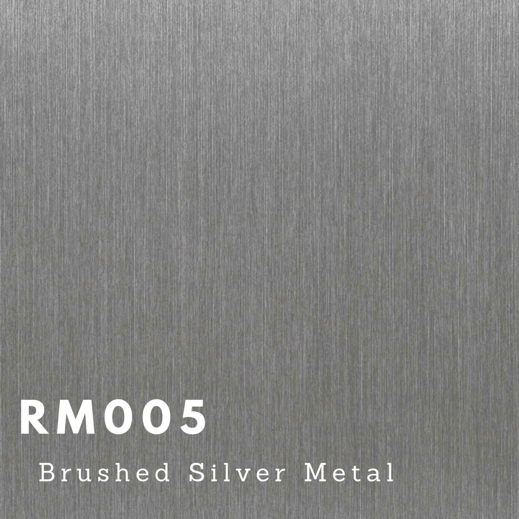 RM005 - Brushed Silver Metal
