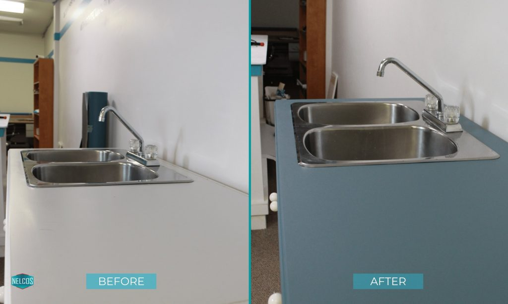 Kitchen Countertops- BEFORE&AFTER