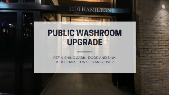 Public Washroom Upgrade