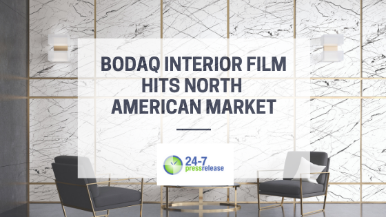 Bodaq Interior Film Hits North American Market - Blog Post Featured Image