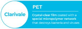 Clarivale PET