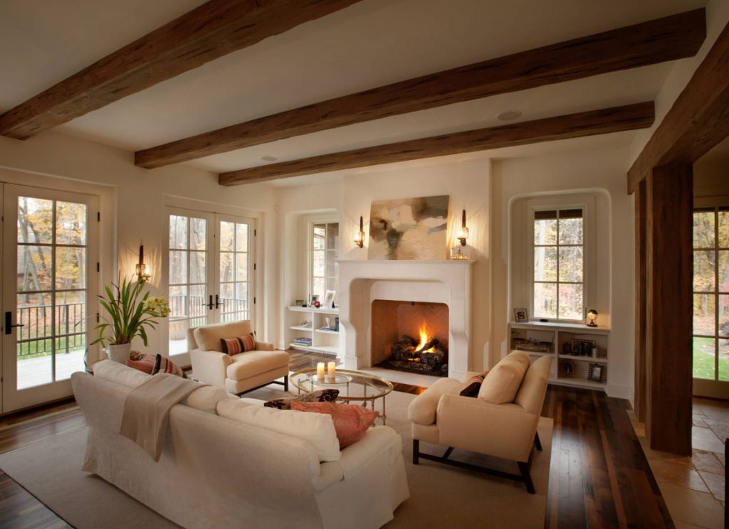 Faux Wood Beams Design Ideas