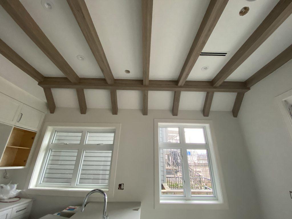 vinyl faux ceiling beam