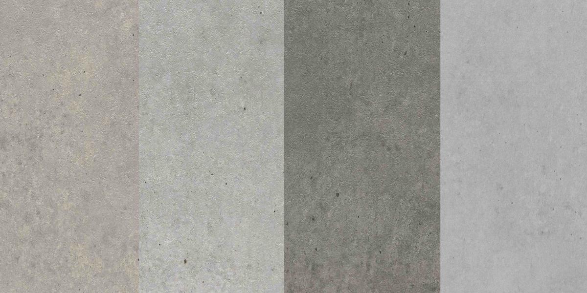 Concrete vinyl patterns