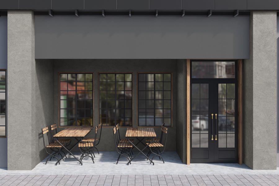 concrete vinyl exterior