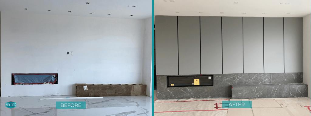 Grey Matte Panels