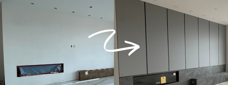 Wall Panels Before&After