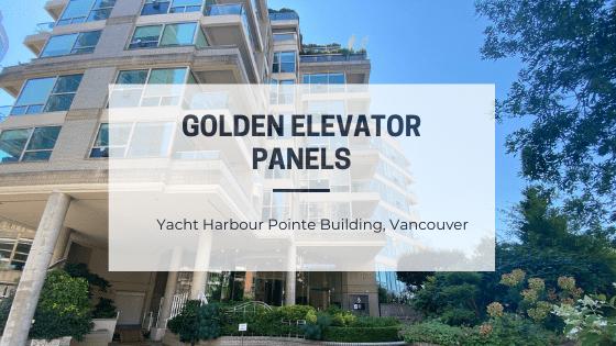 Golden Elevator Panels - Blog Post Featured Image