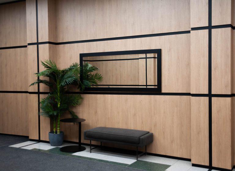 walls and panels renovation