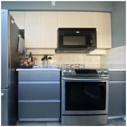 Kitchen renovation project, North Van